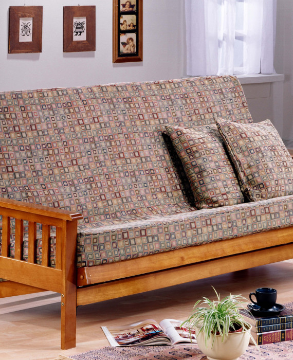 trinity futon chez soi. Black Bedroom Furniture Sets. Home Design Ideas